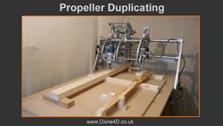 Propeller duplicator