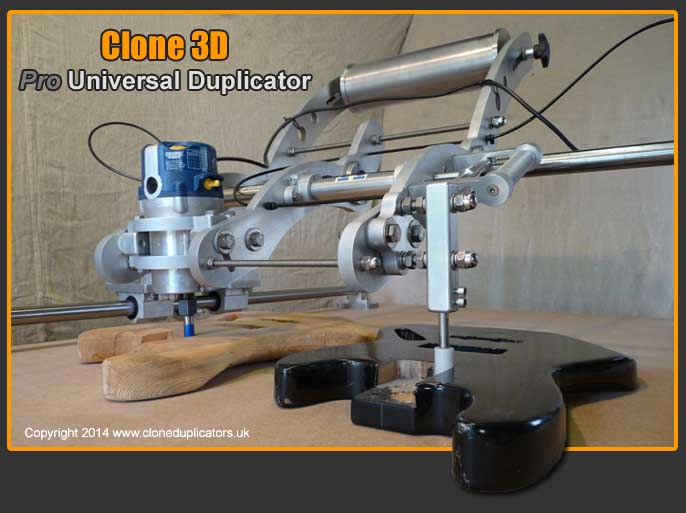 Clone 3D copy carver router duplicator