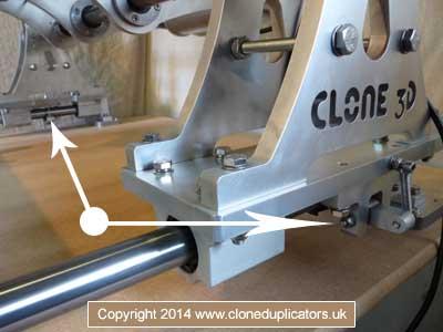 Clone 3D anti kickback brake